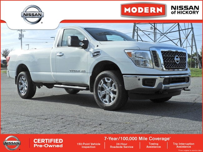 Certified Used 2018 Nissan Titan XD SV Truck Single Cab Hickory, North Carolina