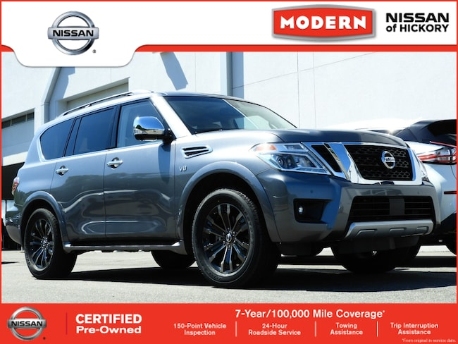 Used 2017 Nissan Armada Platinum SUV Hickory, North Carolina
