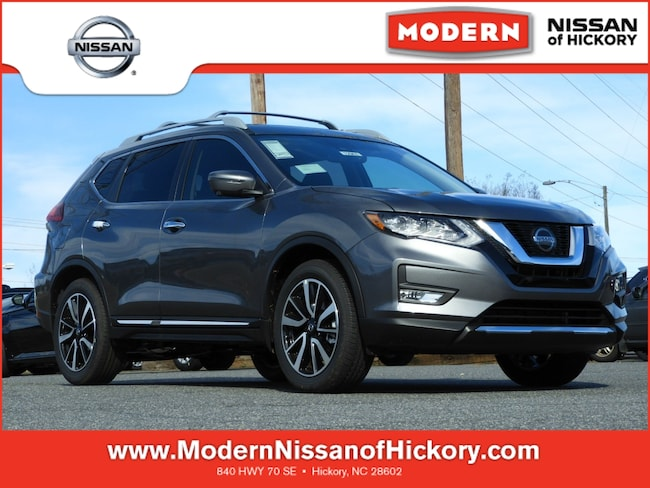 New 2019 Nissan Rogue SL SUV Hickory, North Carolina