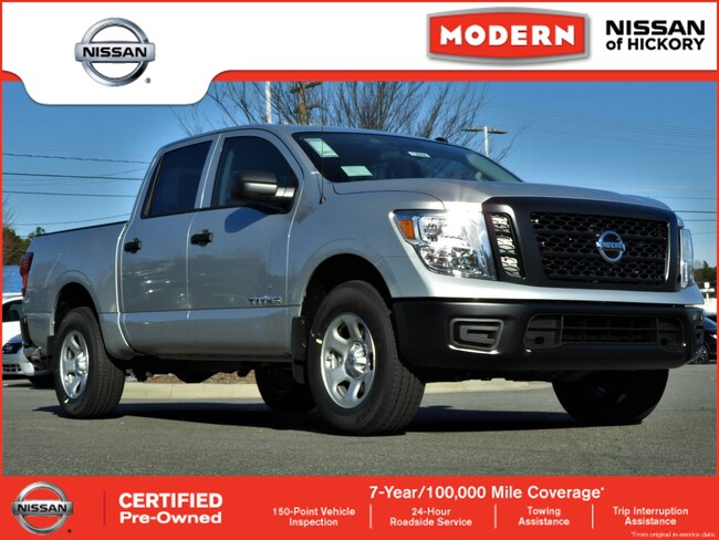 Used 2019 Nissan Titan S Truck Crew Cab Hickory, North Carolina