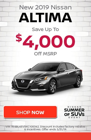 May | New 2019 Nissan Altima