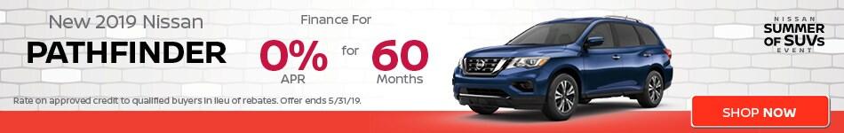 May | New 2019 Nissan Pathfinder