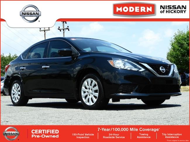 Certified Used 2016 Nissan Sentra SV Sedan Hickory, North Carolina