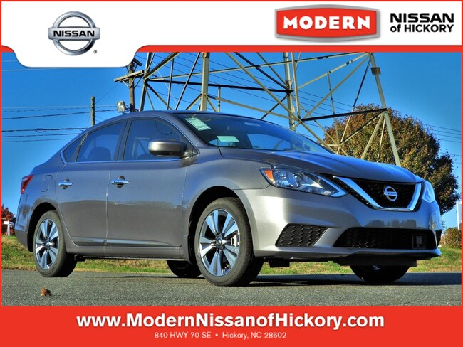 New 2019 Nissan Sentra SV Sedan Hickory, North Carolina