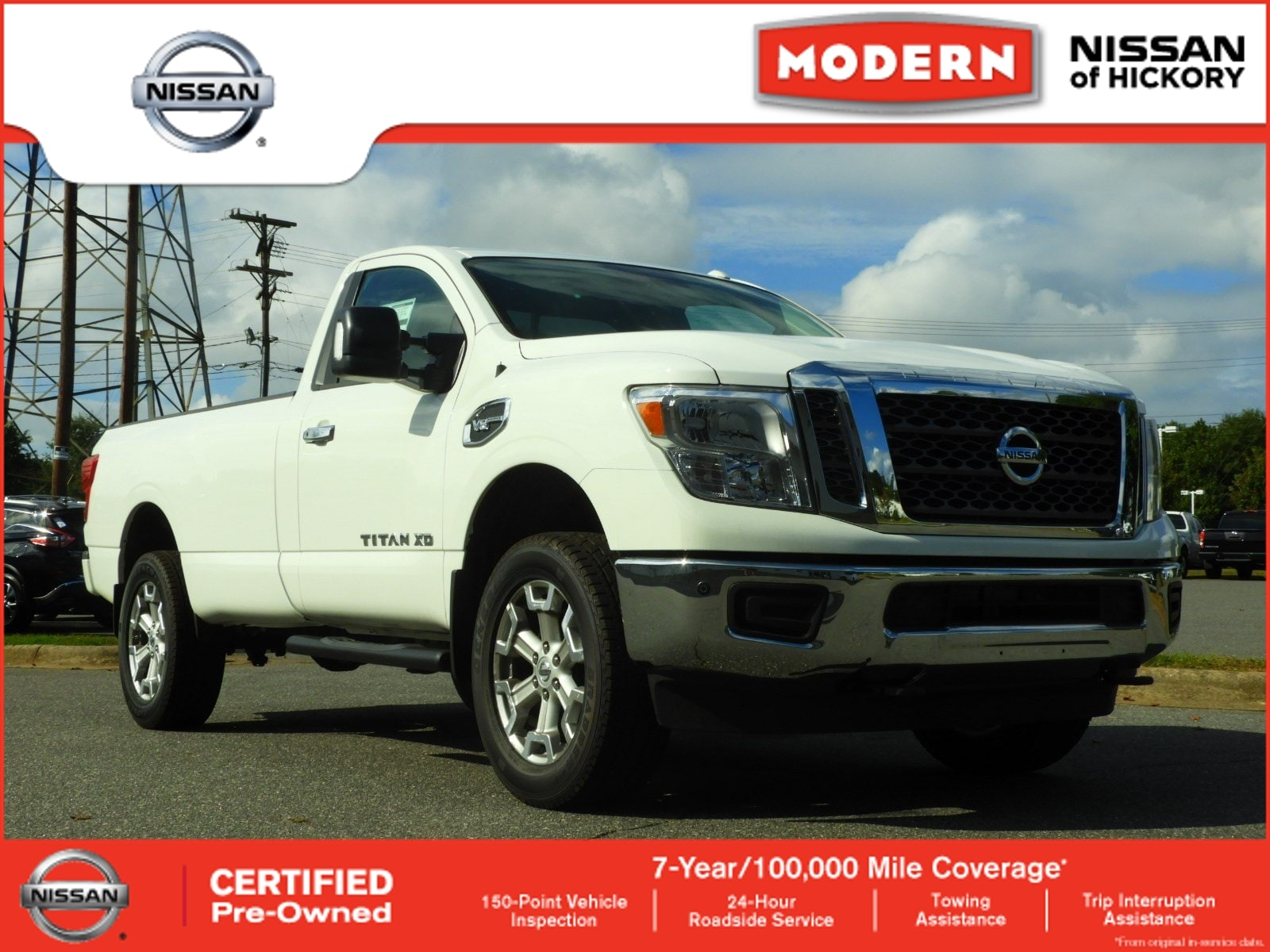 2018 Nissan Titan XD SV Truck Single Cab