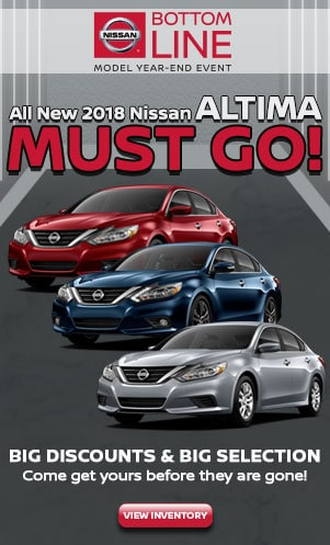 New 2018 Nissan Altima Special
