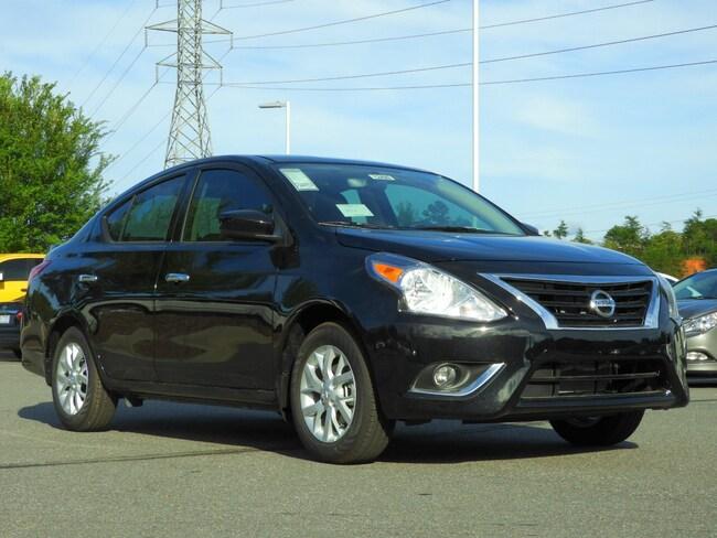 New 2019 Nissan Versa SV Sedan Hickory, North Carolina