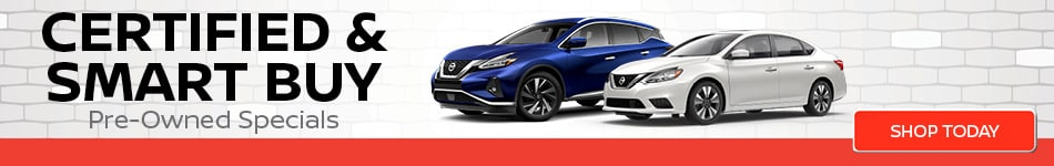 Certified & Smart Buy Pre-Owned Specials
