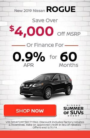 May | New 2019 Nissan Rogue