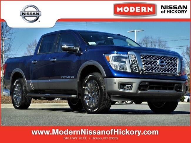 New 2019 Nissan Titan Platinum Reserve Truck Crew Cab Hickory, North Carolina