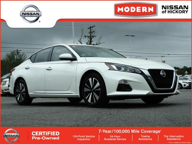 Certified Used 2019 Nissan Altima 2.5 SV Sedan Hickory, North Carolina