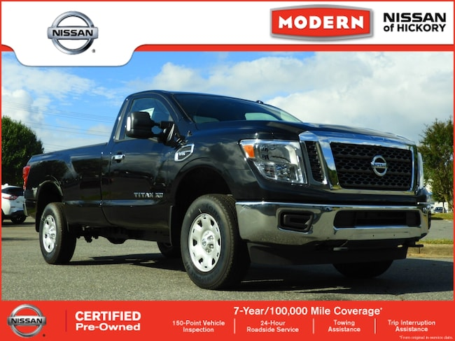 Certified Used 2018 Nissan Titan XD SV Truck Single Cab Hickory, North Carolina