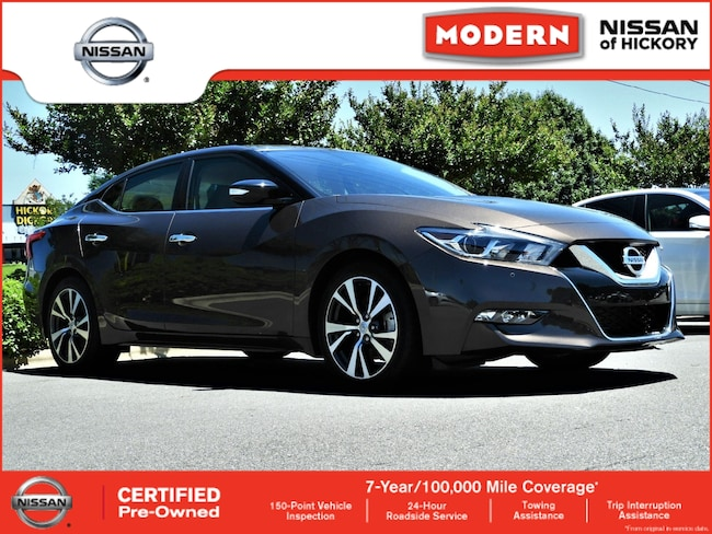 Used 2016 Nissan Maxima 3.5 SV Sedan Hickory, North Carolina