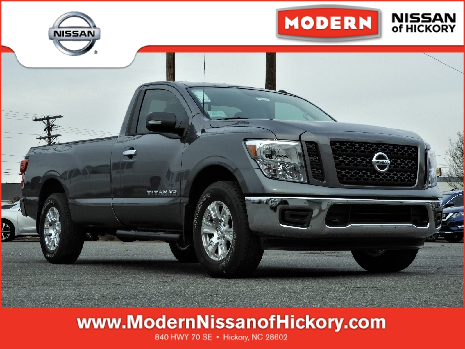 2019 Nissan Titan Truck Single Cab