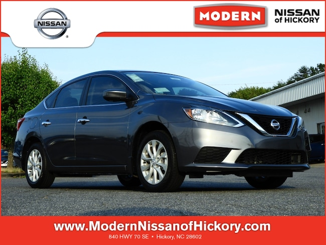New 2019 Nissan Sentra SV Sedan Hickory, North Carolina