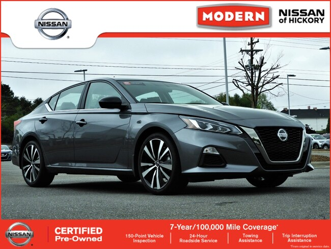Certified Used 2019 Nissan Altima 2.5 SR Sedan Hickory, North Carolina