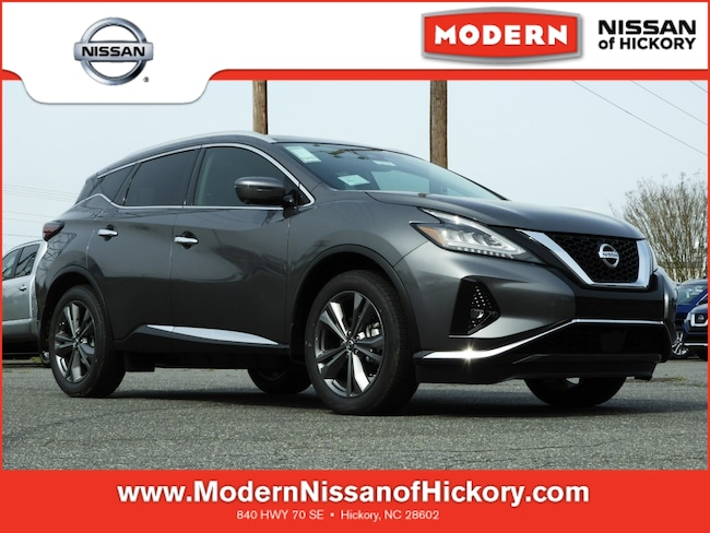 New 2019 Nissan Murano Platinum SUV Hickory, North Carolina