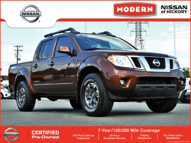Certified Used 2017 Nissan Frontier PRO Truck Crew Cab Hickory, North Carolina