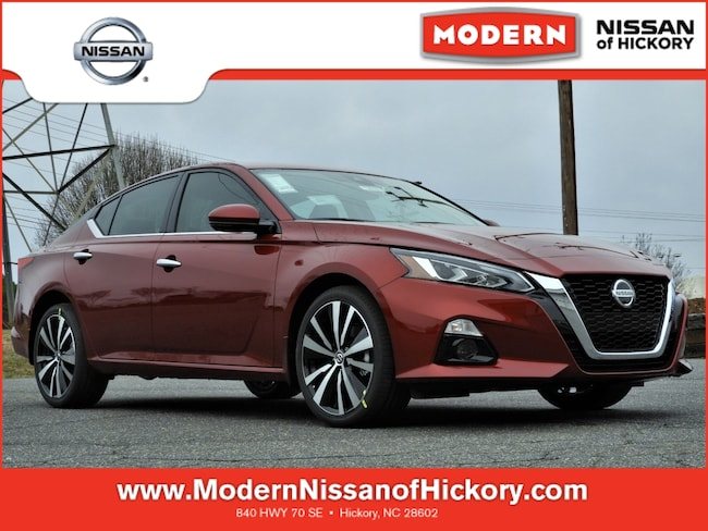 New 2019 Nissan Altima 2.5 Platinum Sedan Hickory, North Carolina