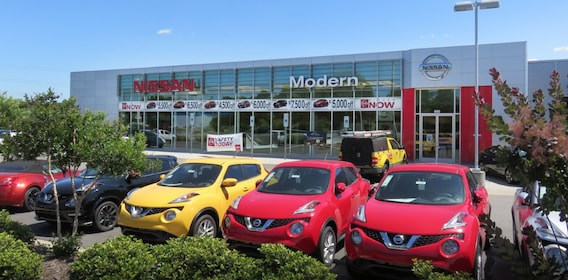 Nissan Dealer Near Lake Norman Nc Directions To Modern Nissan Of Hickory