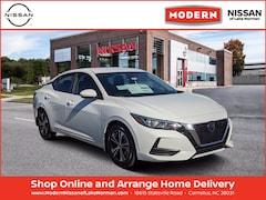New 2021 Nissan Sentra SV Sedan Lake Norman, North Carolina