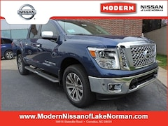New 2019 Nissan Titan SL Truck Crew Cab Lake Norman, North Carolina