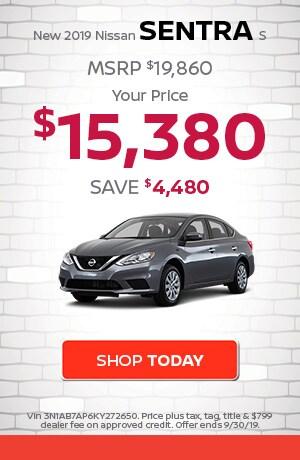 New 2019 Nissan Sentra