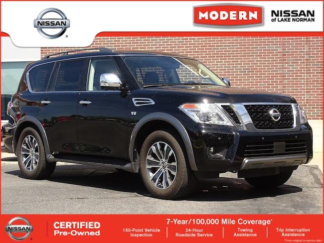 Used 2019 Nissan Armada For Sale Cornelius Nc Jn8ay2nc5k9580036