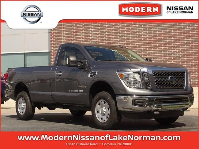 2018 Nissan Titan XD SV Gas Truck Single Cab Lake Norman