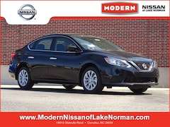 New 2019 Nissan Sentra SV Sedan Lake Norman, North Carolina
