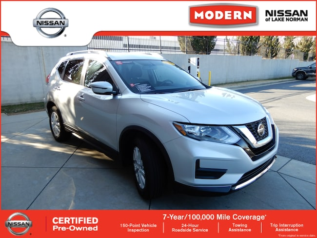 Certified 2018 Nissan Rogue SV SUV Lake Norman