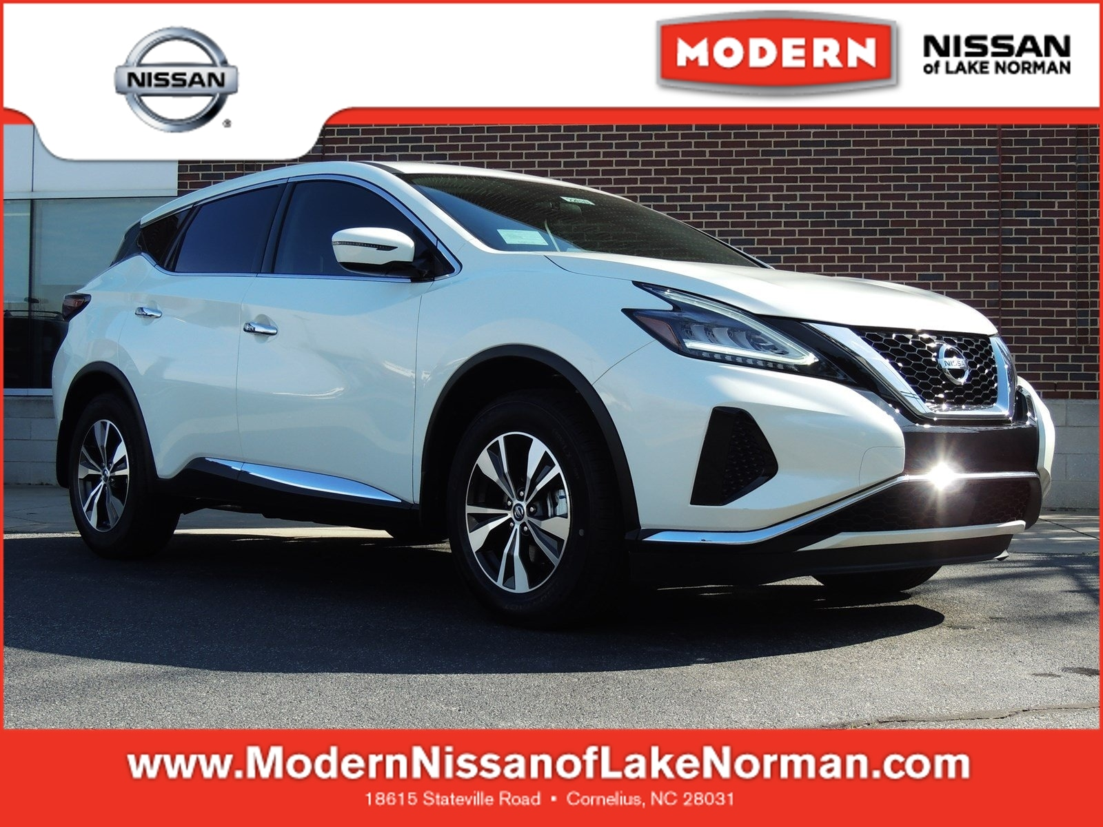 Nissan Murano in the Charlotte Area | Modern Nissan of Lake