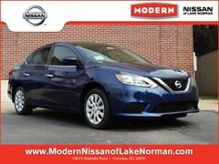 New 2019 Nissan Sentra S Sedan Lake Norman, North Carolina