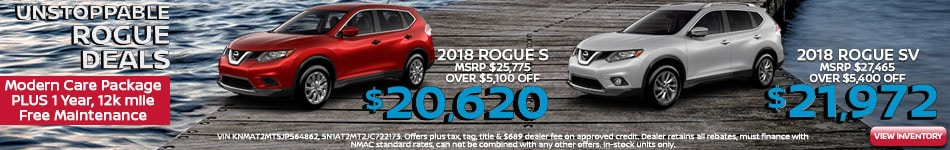 New 2018 Nissan Rogue Special