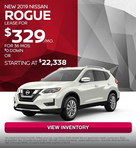 April 2019 Nissan Rogue