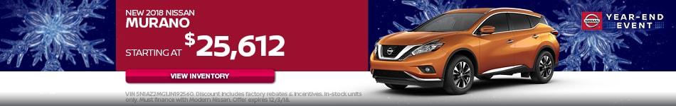 New 2018 Nissan Murano
