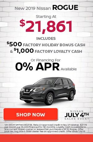 June | New 2019 Nissan Rogue