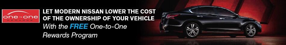 Nissan One To One Rewards At Modern