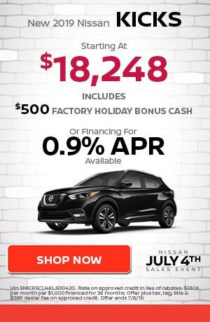 June | New 2019 Nissan Kicks