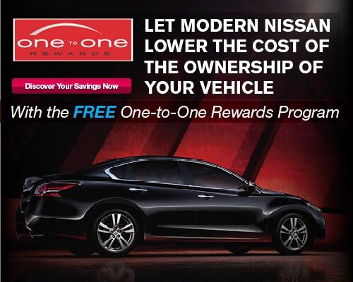 Nissan One To One Rewards In Winston Salem   Modern Nissan Of Winston Salem