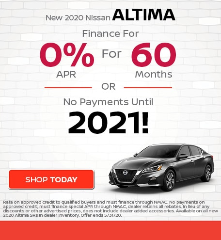 New 2020 Nissan Altima