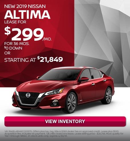 April 2019 Nissan Altima