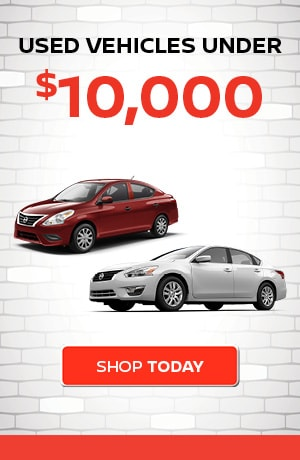 Used Vehicles Under $10,000