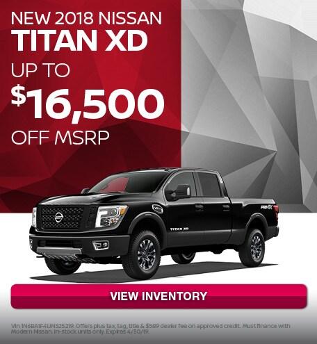 April 2018 Nissan Titan XD