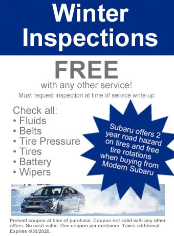 Winter Inspections