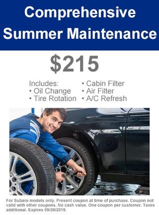 Comprehensive Summer Maintenance