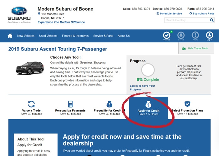Structure Your Deal Online & Skip the Paperwork   Modern Subaru of Boone