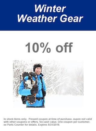 May   Winter Weather Gear