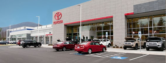 Toyota Of Asheville >> Toyota Dealer Serving Asheville Nc Directions To Modern