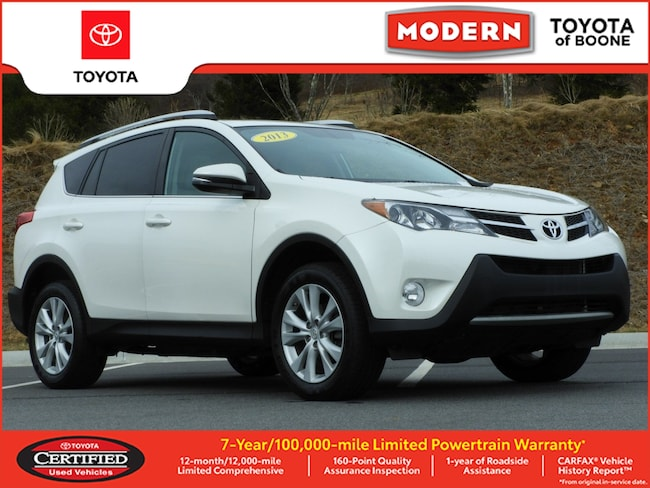 Certified Pre Owned 2013 Toyota RAV4 Limited SUV Boone